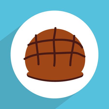 bagels: bakery icon design, vector illustration graphic Illustration