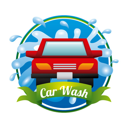 wash: car wash design, vector illustration eps10 graphic