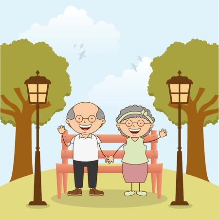 grandparents day design, vector illustration eps10 graphic