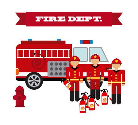 fire concept design, vector illustration eps10 graphic Vector