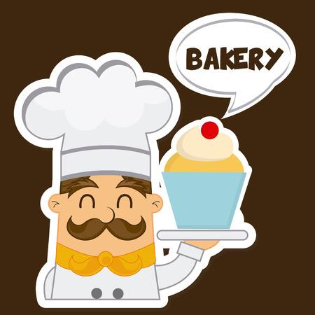 bakery shop design, vector illustration eps10 graphic Vector
