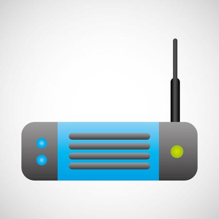 antena: internet icon design, vector illustration eps10 graphic Illustration