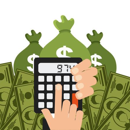 money concept design, vector illustration eps10 graphic Vector