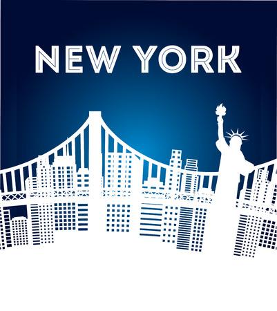 new york design, vector illustration eps10 graphic Vector