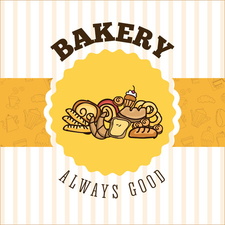 bakery products: bakery shop design, vector illustration eps10 graphic