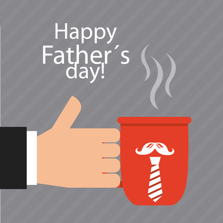 fathers day: fathers day design, vector illustration