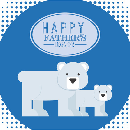 fathers day design, vector illustration Vector