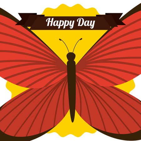 butterflies flying: butterflies flying design, vector illustration