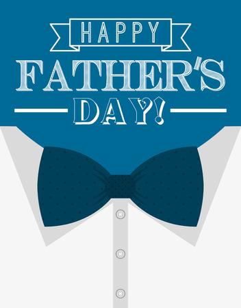 Gelukkige vaders dag ontwerp, vector illustratie eps10 grafisch
