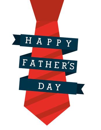 gelukkige vadersdag ontwerp, vectorillustratie eps10 grafische Stock Illustratie
