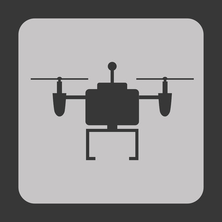drone technology design, vector illustration eps10 graphic Ilustracja