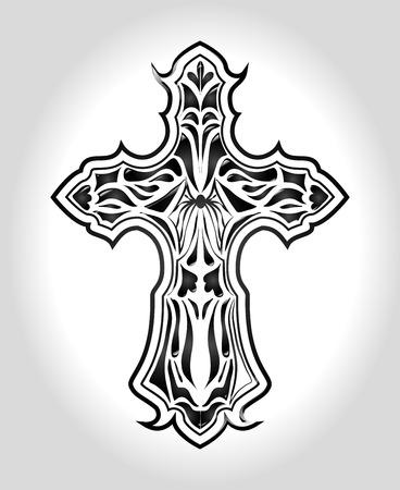 christianity: Christianity design over white background, vector illustration.