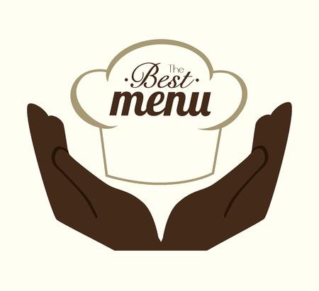 Restaurant design over white background ,vector illustration.