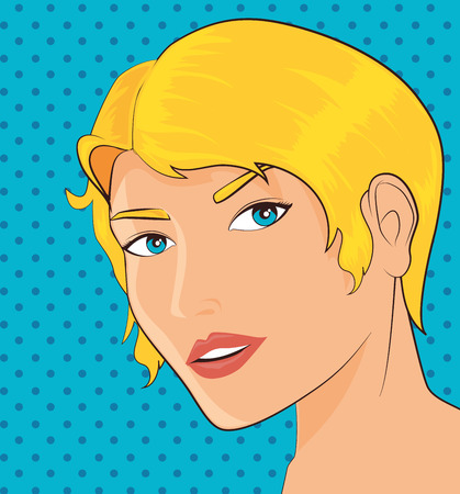 ove: Comic design ove colorful background, vector illustration. Illustration