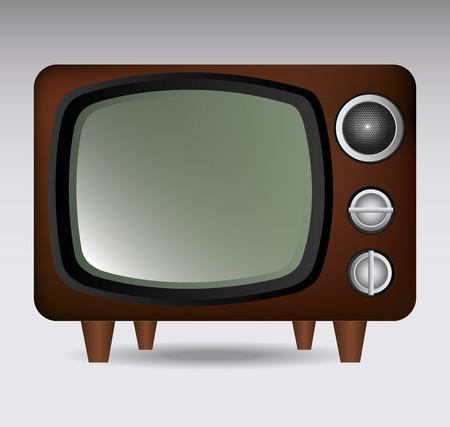 communicatio: Media design over white background, vector illustration.