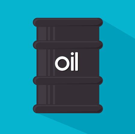 petroleum blue: Petroleum industry design over blue background, vector illustration. Illustration