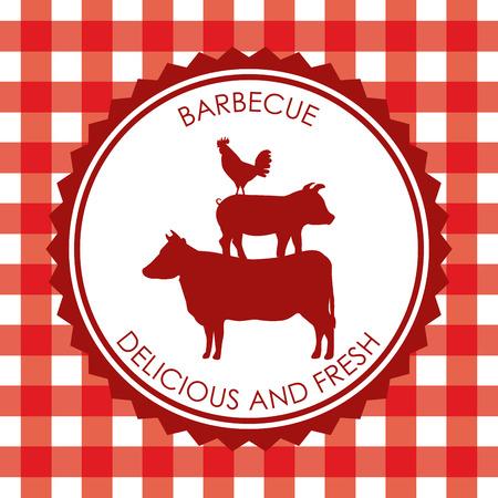 bbq: bbq menu design, vector illustration eps10 graphic
