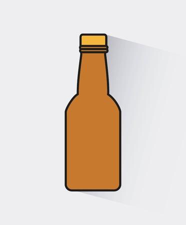 cold beer: cold beer design, vector illustration eps10 graphic Illustration