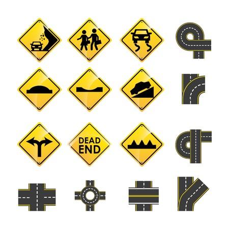 ramp: road infographics design, vector illustration eps10 graphic