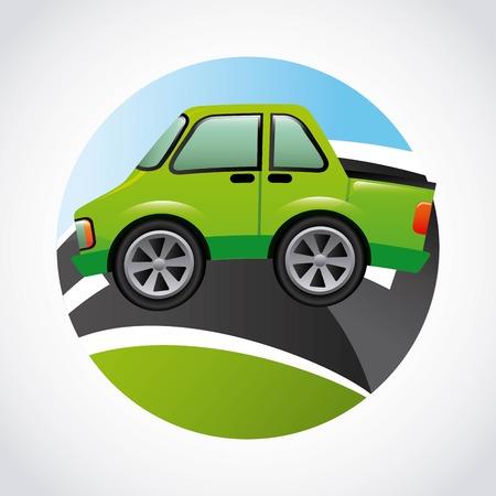 speedway: road highway design, vector illustration eps10 graphic Illustration