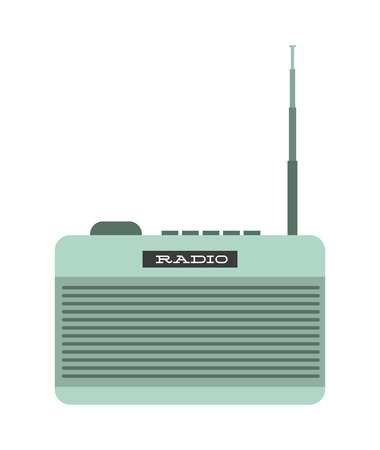 antena: retro device design, vector illustration eps10 graphic Illustration