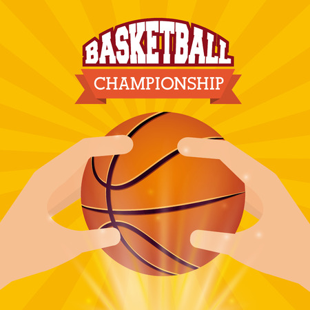 championship: basketball championship design, vector illustration  graphic