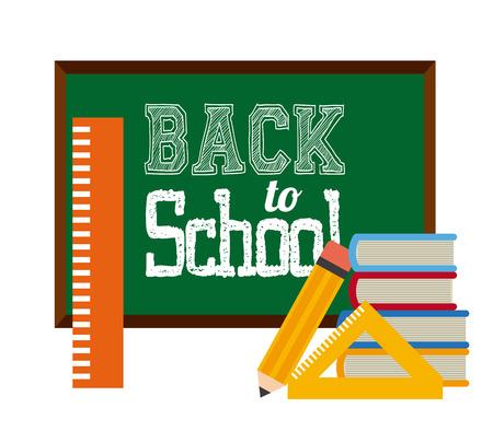 semester: back to school design, vector illustration graphic