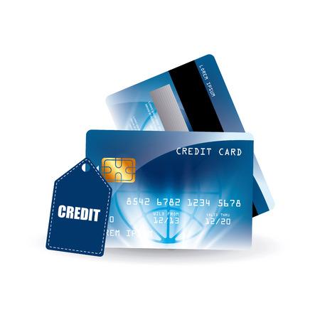 credit card design, vector illustration eps10 graphic Vector