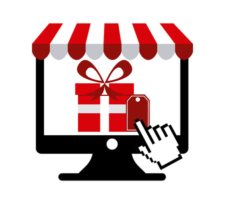 ecommerce icon design, vector illustration graphic