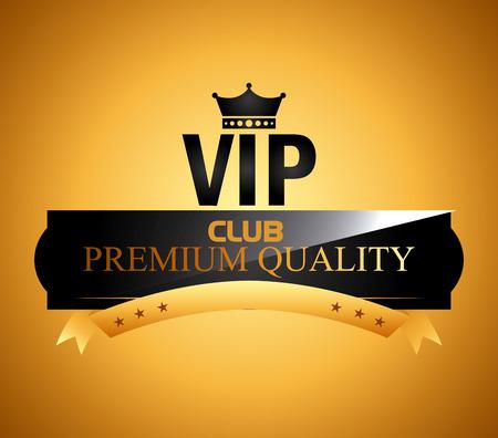 vip membership design, vector illustration graphic