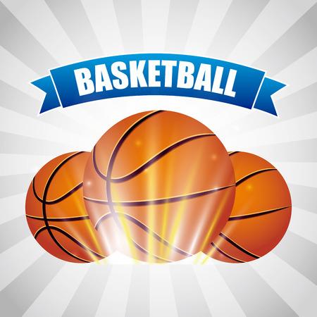 madness: basketball sport design  Illustration