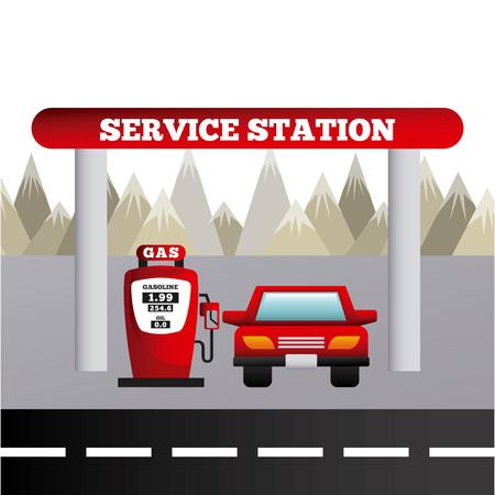 service station: service station design
