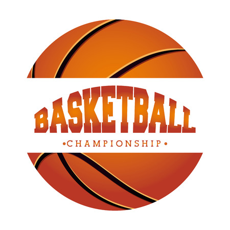 basket ball: basketball sport design, vector illustration