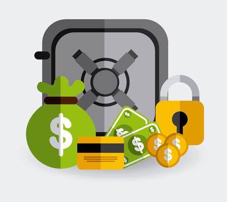 money concept: money concept design, vector illustration
