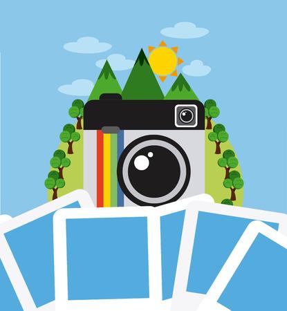 photography: photography Konzept-Design, Vektor-Illustration Illustration