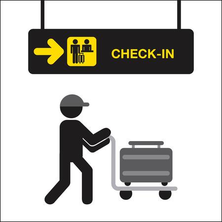 people travelling: airplane  travel design, vector illustration