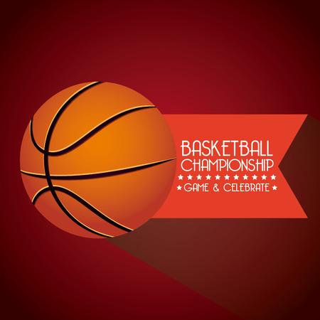 basketball sport design  Illustration