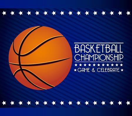 basketball sport design, vector illustration