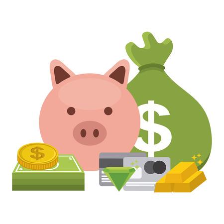 money concept design, vector illustration   Vector