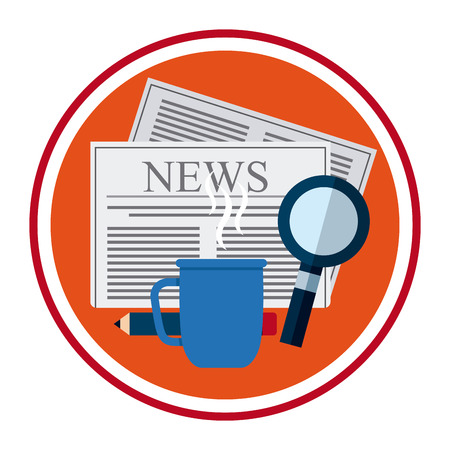 article icon: newspaper concept design, vector illustration