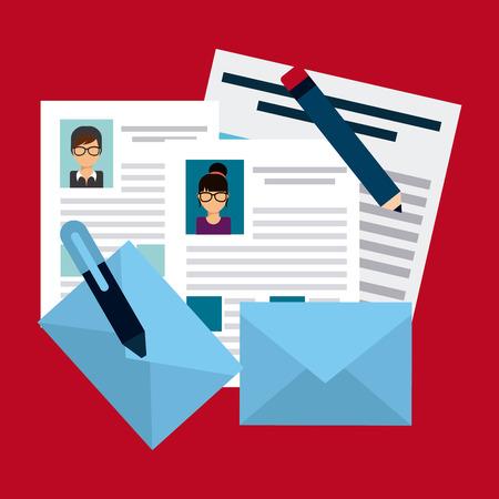 human resources design, vector illustration   Illustration