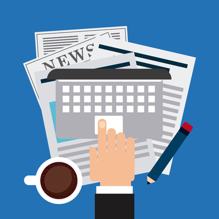 classified ads: newspaper concept design, vector illustration