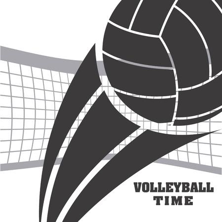volleyball sport design, vector illustration