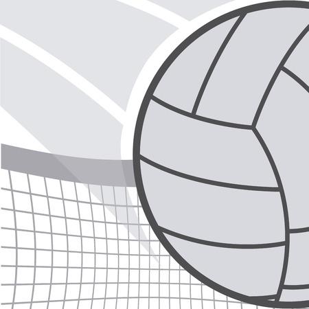 pelota de voleibol: dise�o de deporte de voleibol, ilustraci�n vectorial Vectores