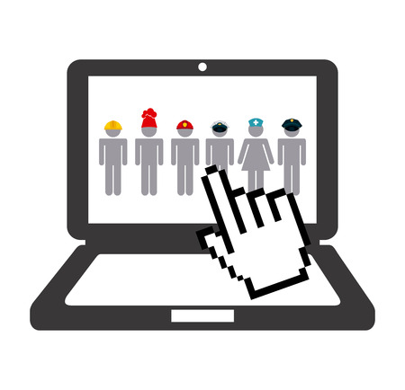 jobs: jobs concept design  Illustration