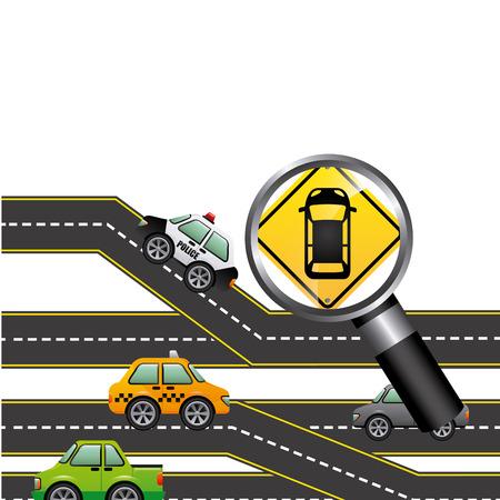 highway patrol: road signal design