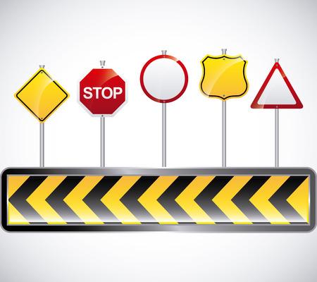 stop icon: road signal design