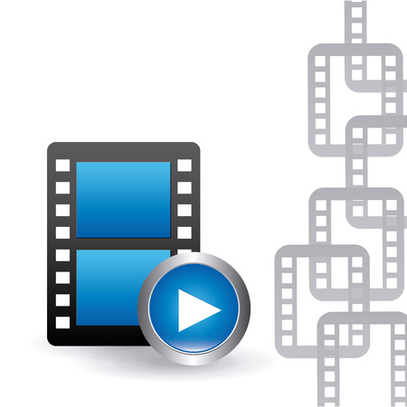 video player: video player design, vector illustration eps10 graphic