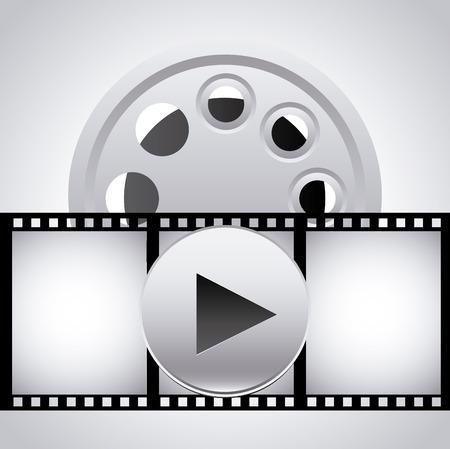 video player: video player design   Illustration
