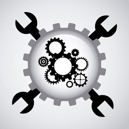 gear setup design      Illustration